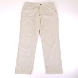 GAP Khaki Cropped Pants Sz 4 B126
